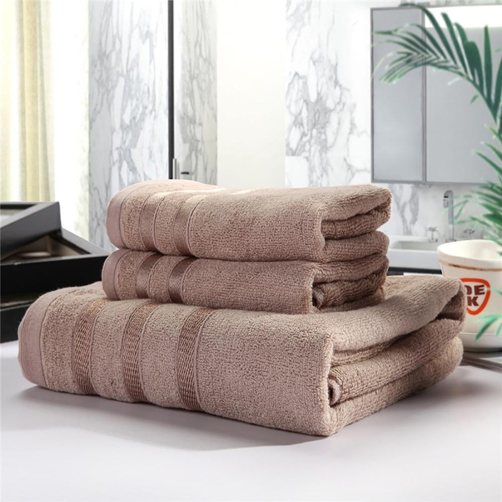 Soft Cotton Bath Towel Set 3 pcs - OYRISS