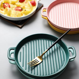 Colorful Ceramic Baking Dish Set - OYRISS