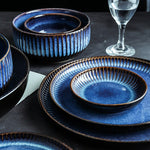 Blue Nordic Tableware Set - OYRISS