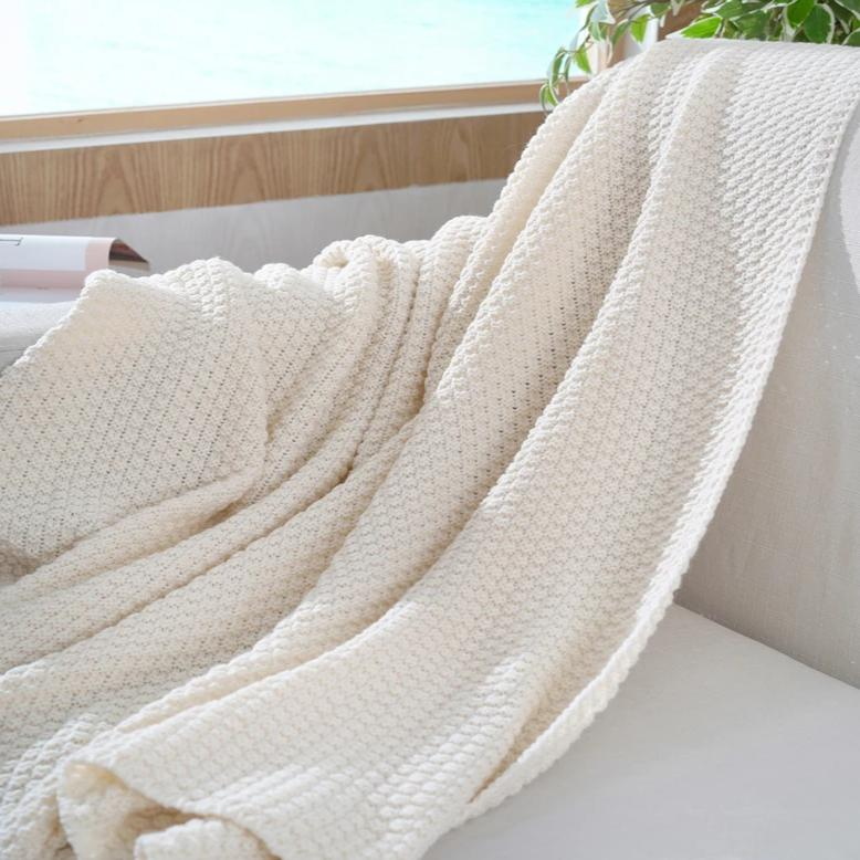 Nordic Knit Blanket - OYRISS