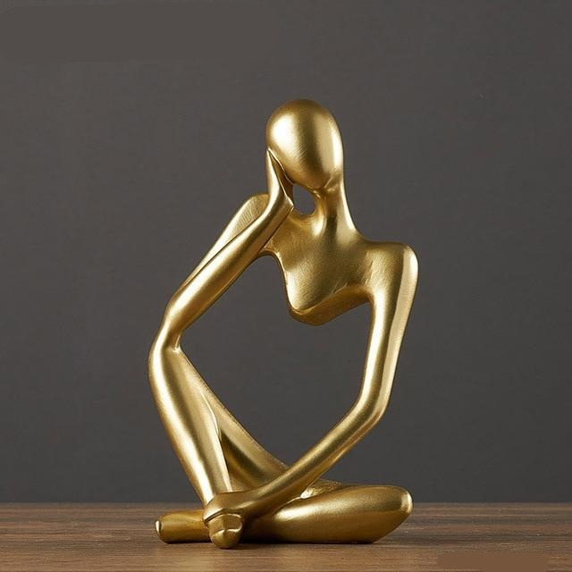Abstract Character Resin Statuette