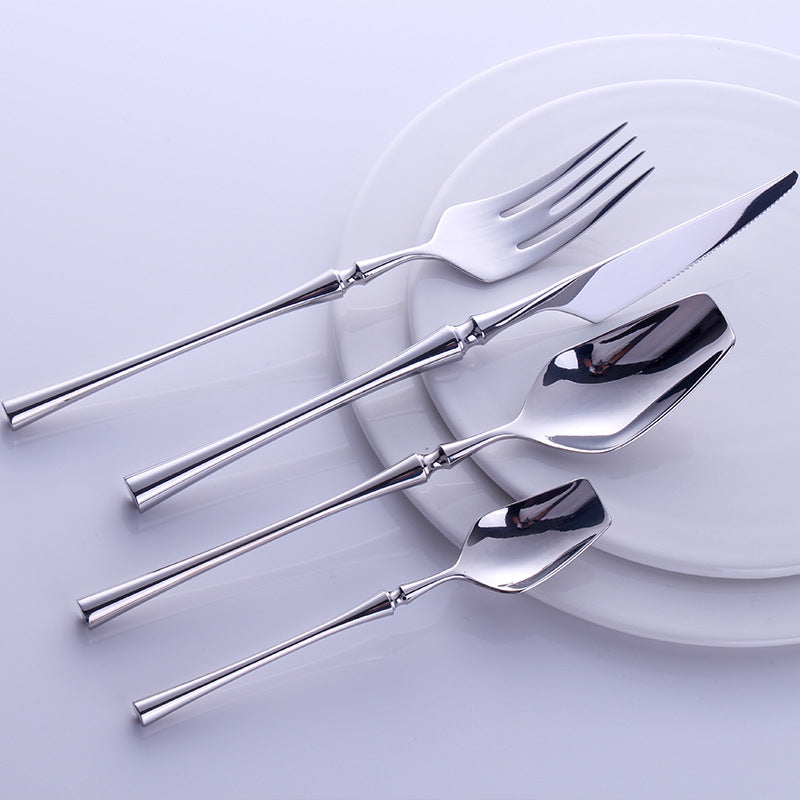 Silver Cutlery Set 24 pieces - OYRISS