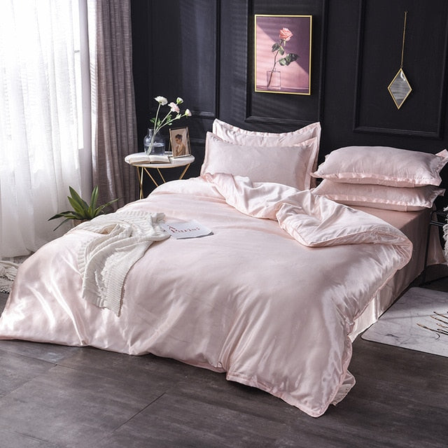 Luxury 100% Silk Bedding Set - OYRISS