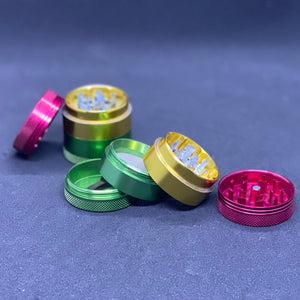 Small 4 Part Rasta Color Grinder