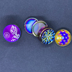 Small Anodized Dragon Fighter 4 Part Grinder