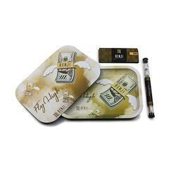 Benji Mag Tray With Papers&Cones White