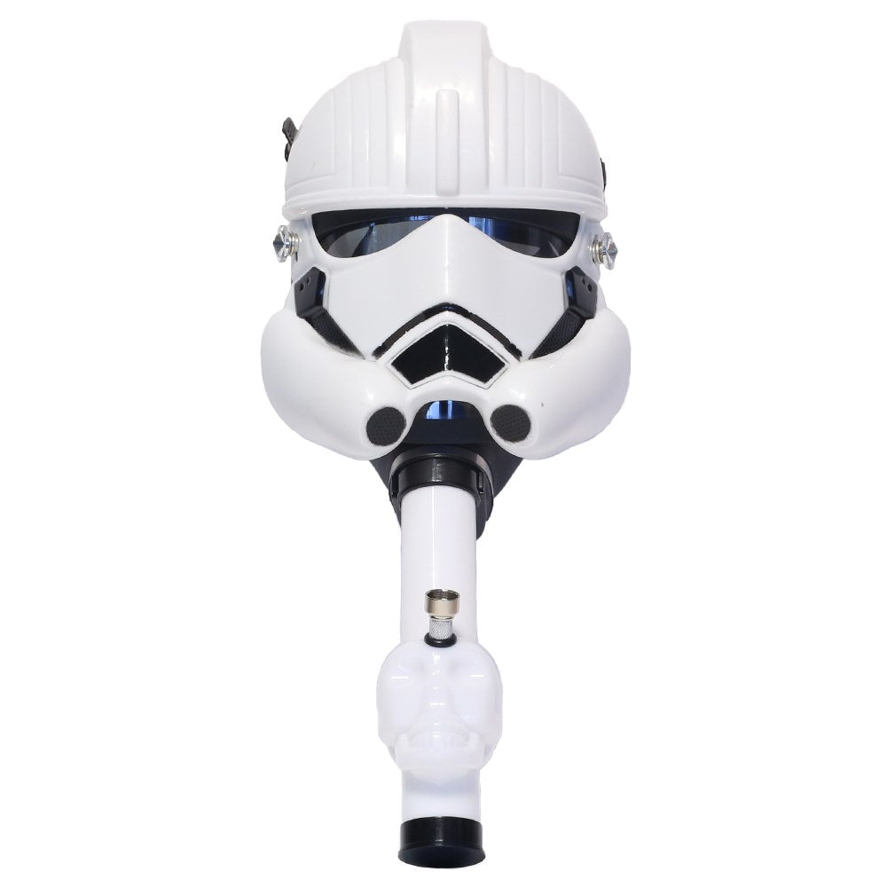 Underground Gas Mask - White Trooper (MSRP 49.99)