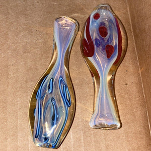 Round Body Color Line Chillum