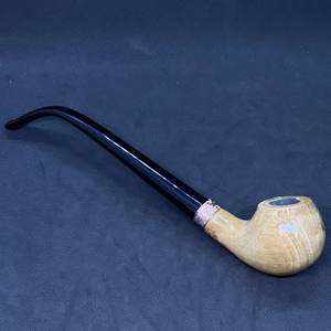 Long Round Coffee Swirl Pipe