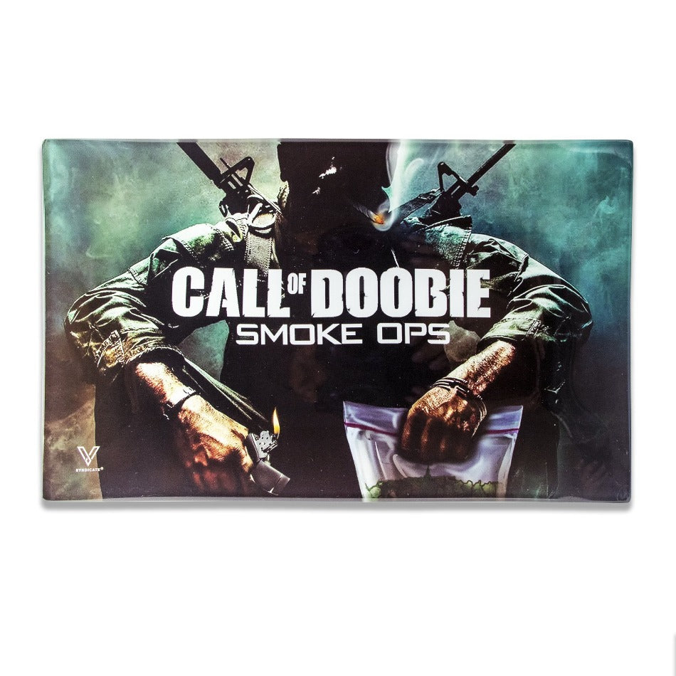 Call of Doobie Glass Tray