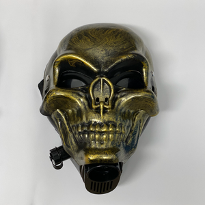 Underground Gas Mask - Gold Skull (MSRP 49.99)