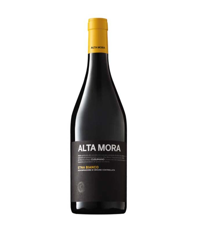 Simple bottle image Alta Mora, yellow collar