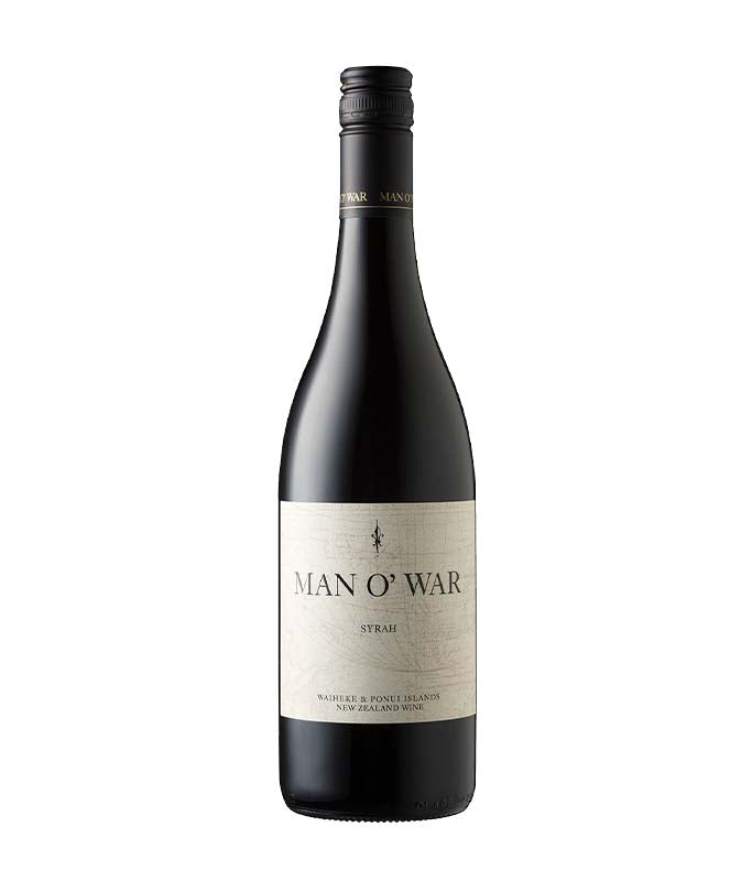 Man O' War Waiheke Island Estate Syrah 2017