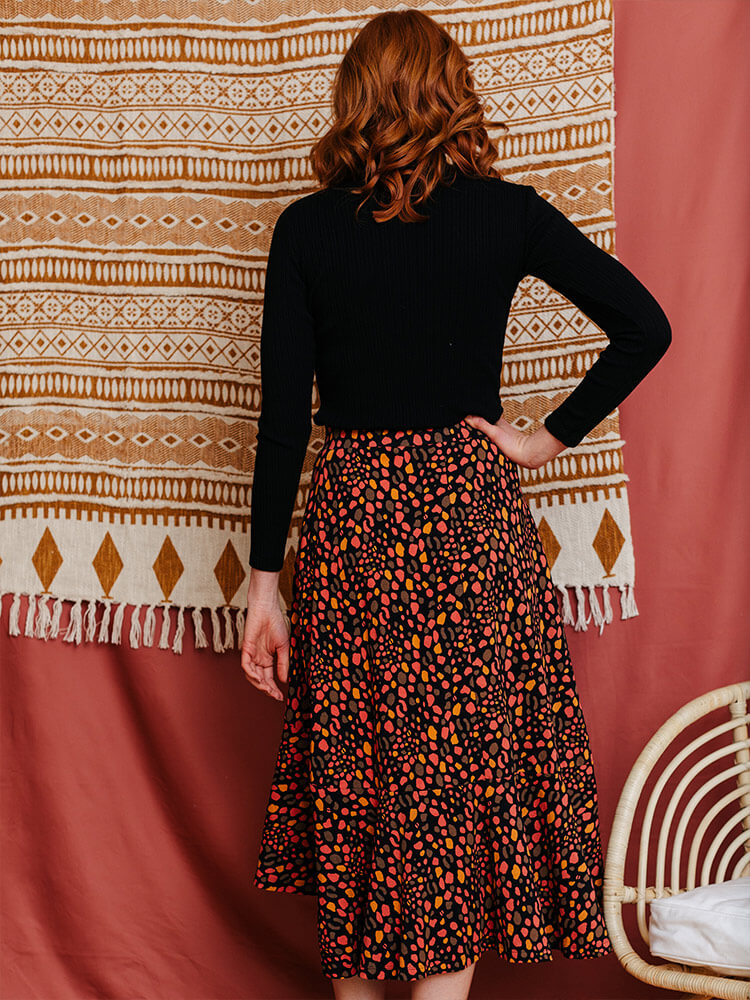 Midi Skirt Organic Cotton