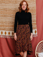 Load image into Gallery viewer, Midi Skirt Organic Cotton