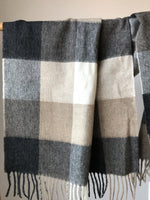Load image into Gallery viewer, Blanket Scarf Merino Wool