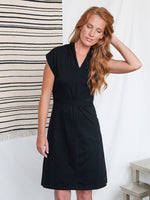 Load image into Gallery viewer, Collared Cotton Dress