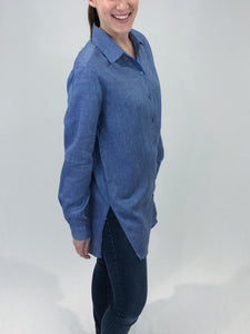 Women's Tunic Button Down