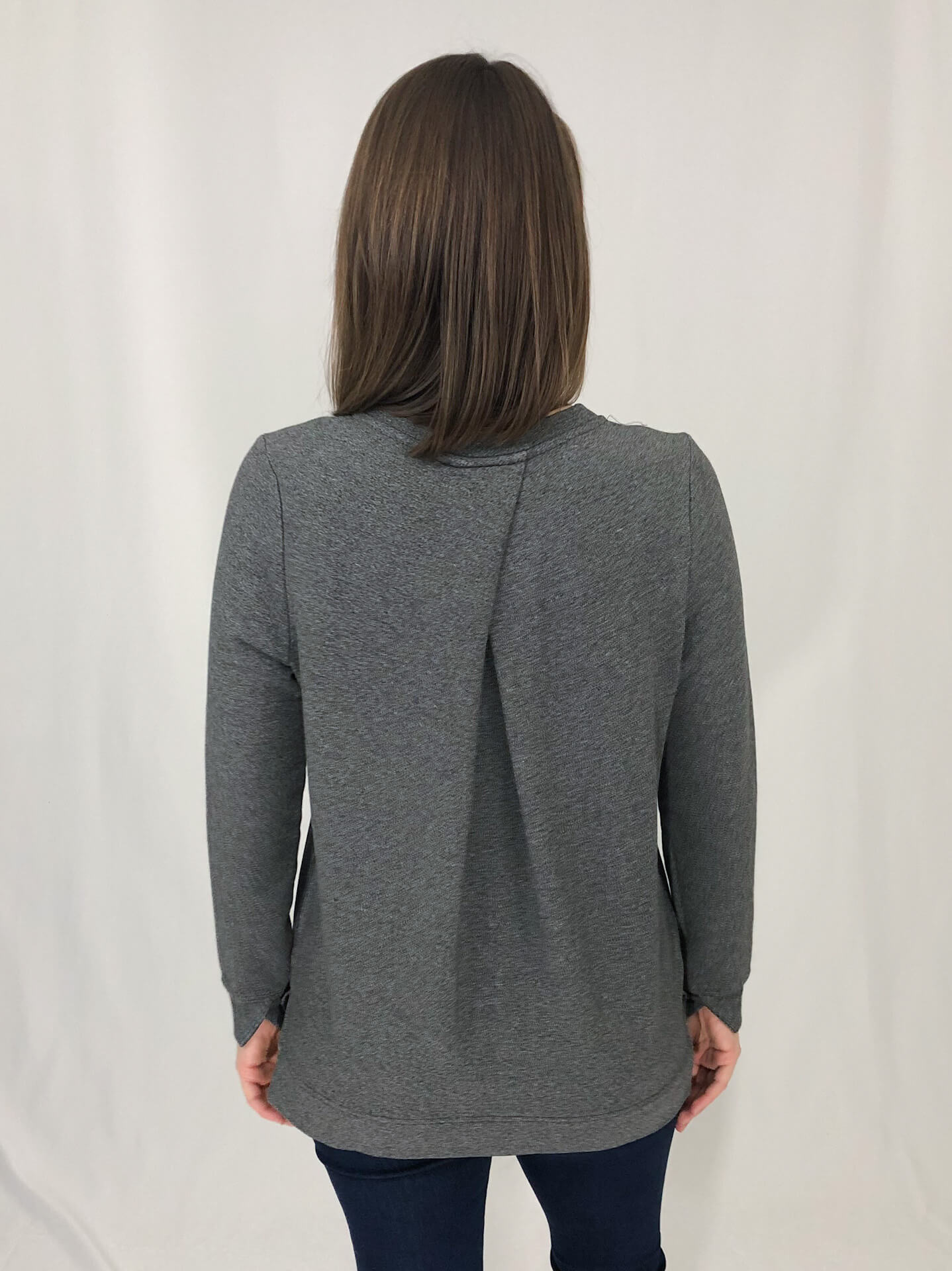 Bamboo Sweatshirt V Neck