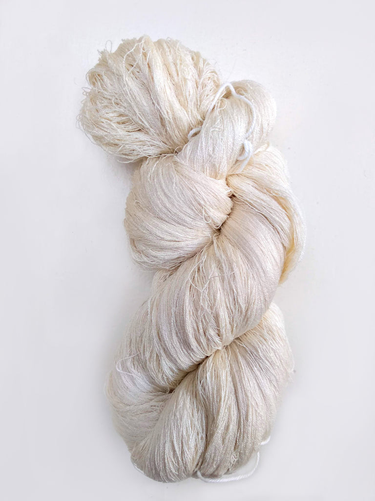 Eri Silk Thread - 100 gm. Undyed