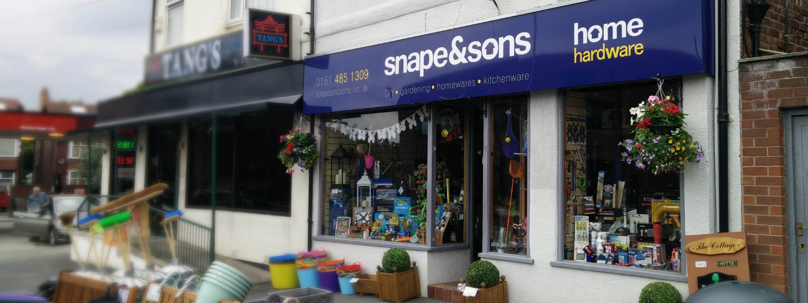 Snape & Sons Shop Front