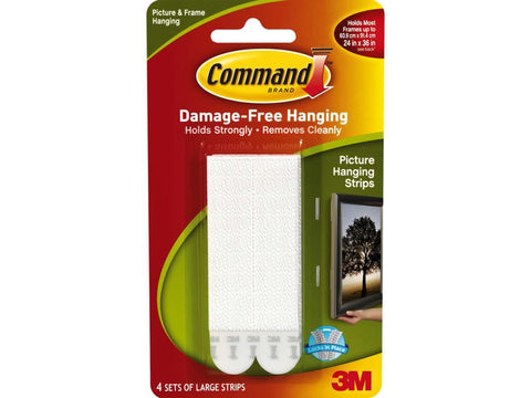 3M - Command Large Picture Hanging Strips Picture Hanging | Snape & Sons