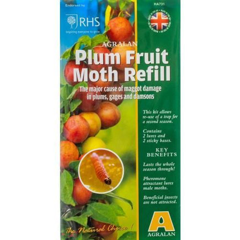 Agralan - Plum Fruit Moth Trap Refill Moth Control | Snape & Sons
