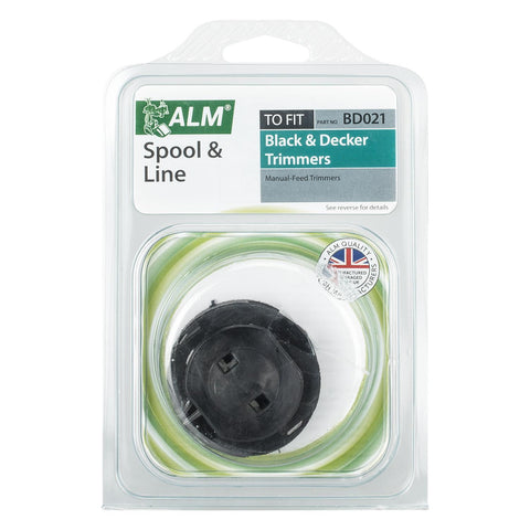ALM - BD021 Trimmer Spool & Line | Black & Decker A6044 Trimmer Spares | Snape & Sons