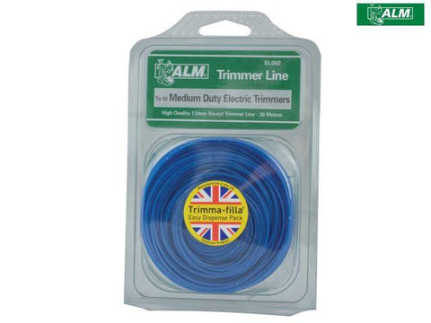 ALM - Medium Electric Trimmer Line 30m Trimmer Spares | Snape & Sons