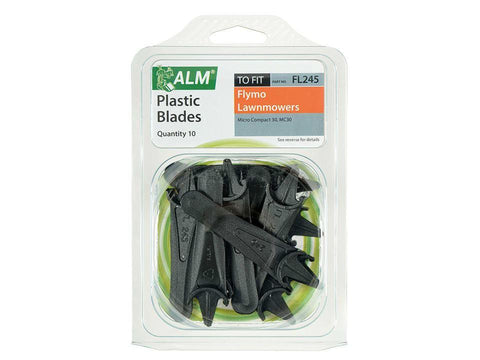 ALM - Plastic Mower Blades | Flymo FLY015 Lawn Mower Spares | Snape & Sons