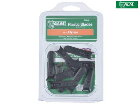 ALM - Plastic Mower Blades Lite | Flymo FLY014 Lawn Mower Spares | Snape & Sons