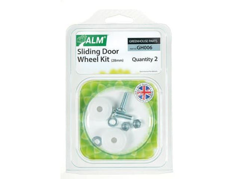 ALM - Sliding Door Wheel Kit Greenhouse Accessories | Snape & Sons