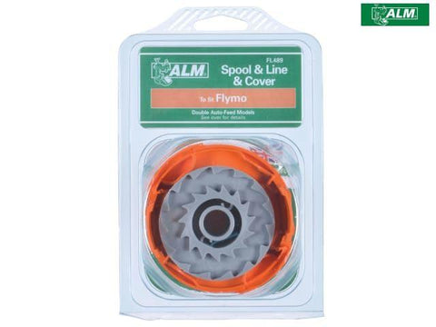 ALM - Spool, Line & Cover | Flymo FLY060 Trimmer Spares | Snape & Sons