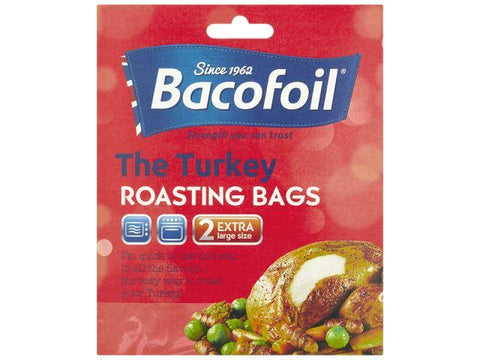Baco - EasyRoast Extra Large Turkey Roasting Oven Bags x2 Cooking Bags | Snape & Sons