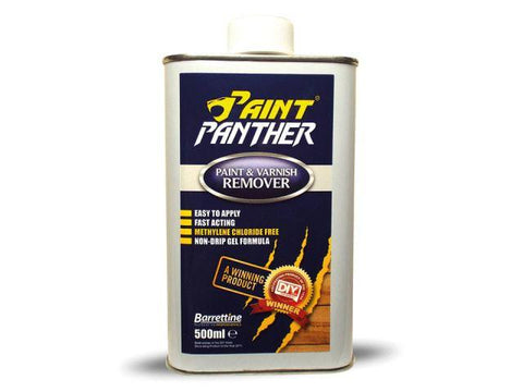 Barrettine - Paint Panther Paint Stripper 500ml Paint Strippers | Snape & Sons