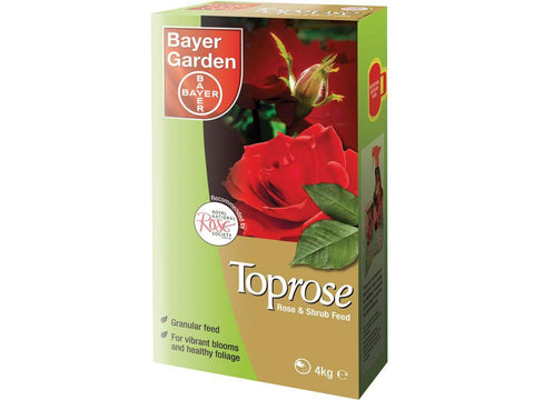 Bayer - Toprose Rose & Shrub Feed 4kg Plant Feed | Snape & Sons