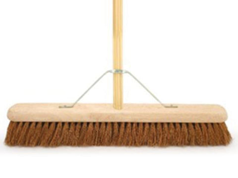 "Bentley Brushes - Soft Coco Platform Broom 24"" Brooms 