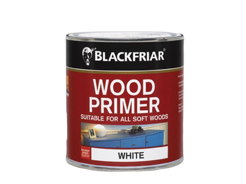 Blackfriars - Wood Primer White 500ml Primers & Sealers | Snape & Sons