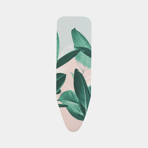 Brabantia - Cotton Board Cover Size-B Tropical Leaves Ironing Board Covers | Snape & Sons