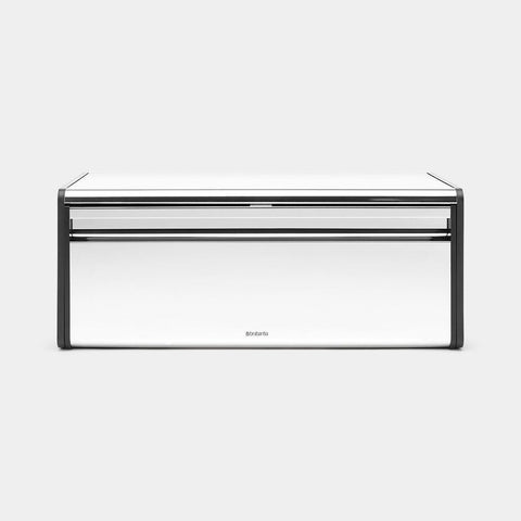 Brabantia - Fall Front Bread Bin Brilliant Steel Bread Bins | Snape & Sons