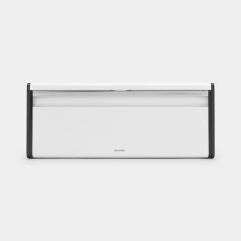 Brabantia - Fall Front Bread Bin White Bread Bins | Snape & Sons