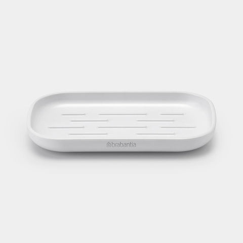 Brabantia - ReNew White Soap Bar Dish Sink Side Accessories | Snape & Sons