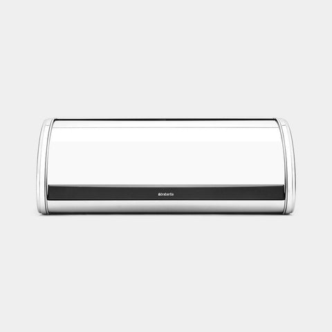 Brabantia - Roll Top Bread Bin Brilliant Steel Bread Bins | Snape & Sons