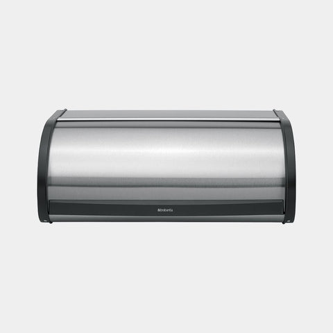 Brabantia - Roll Top Bread Bin Matt Steel Bread Bins | Snape & Sons