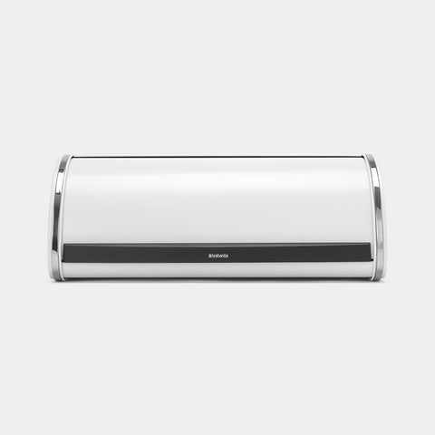 Brabantia - Roll Top Bread Bin White - Large Bread Bins | Snape & Sons