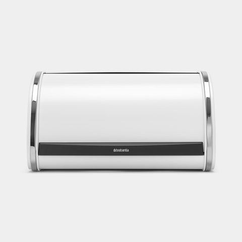 Brabantia - Roll Top Bread Bin White - Medium Bread Bins | Snape & Sons