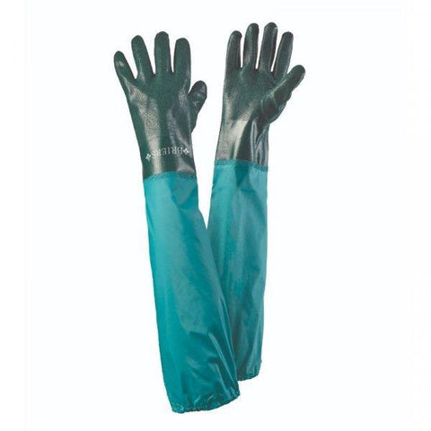 Briers - Full Length Drain Gauntlets Large / Size 9 Gardening Gloves | Snape & Sons