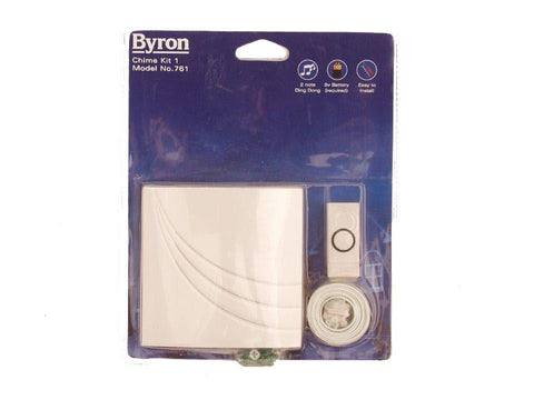 Byron - Budget Door Chime Kit No.1 Door Bell Kits | Snape & Sons