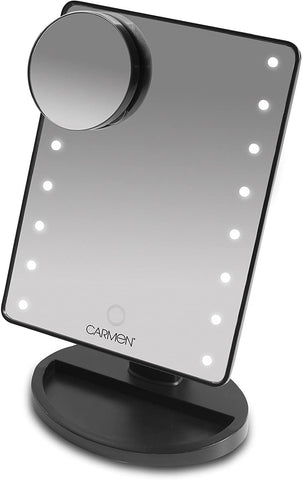 Carmen - LED Illuminating Smart Touch Mirror Grooming | Snape & Sons
