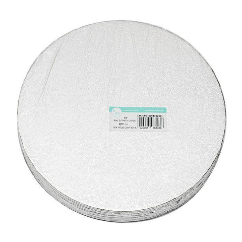 Caroline - 12mm Round Cake Drum Small Cake Boards | Snape & Sons